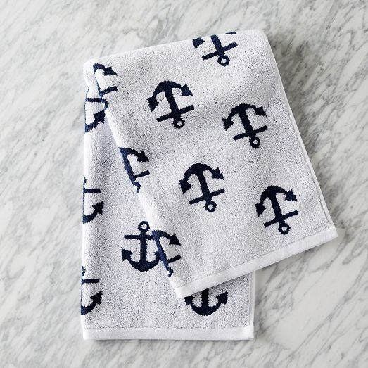 anchor towel.