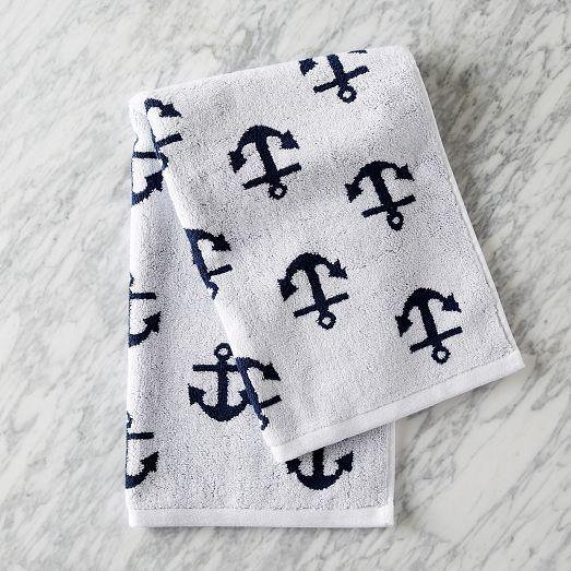 anchor towel.