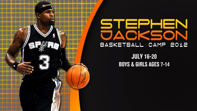 Stephen Jackson Basketball Camp July 16-20, register now!