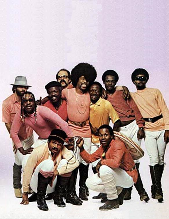 Ohio Players, funk and R&B band. With its slinky, horn-powered grooves, pristine musicianship, and highly sexualized album covers (many with bald model Pat Evans), the group was among the top funk bands of the mid-'70s.. They are best known for their hit songs Fire, Love Rollercoaster, Funky Worm, Sweet Sticky Thing, Who'd She Coo?, & Skin Tight. They have been inducted into the Official R&B Music Hall of Fame.