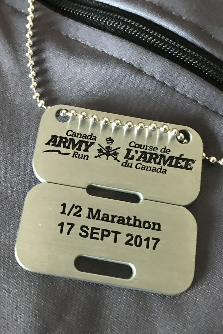Canadian Army Half Marathon 21.1 KM Sept 17, 2017 Ottawa, ON #armyrun #blingjunkie