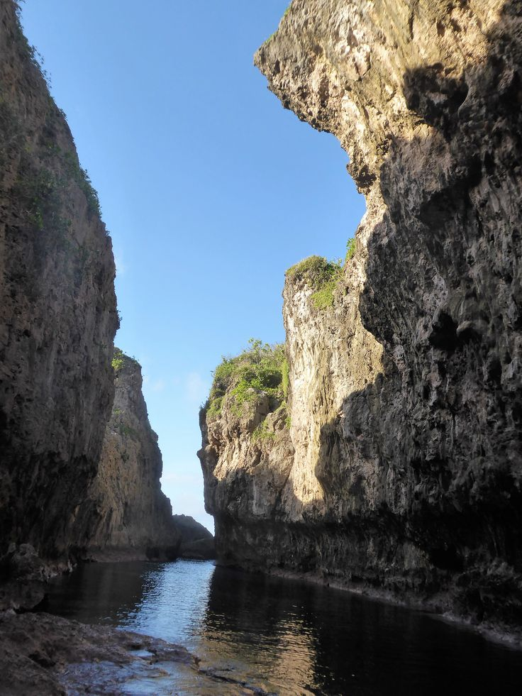 Easily accessible Matapa Chasm in Niue. Check out all the other cool things to do in Niue when you're on the island.
