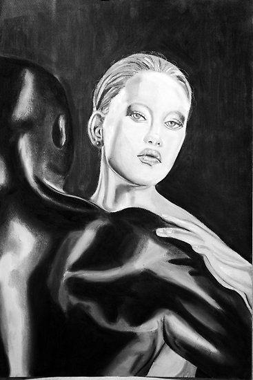 Yin Yang by Susan van Zyl: Yang Kamasutra, Ying Yang, Artistic Nerd, Yin Yang, Art Black
