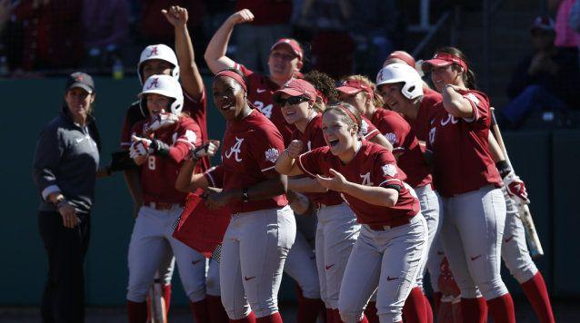 Alabama Softball Climbs to No. 2 in ESPN.com/USA Softball Poll - ROLLTIDE.COM - University of Alabama Official Athletic Site