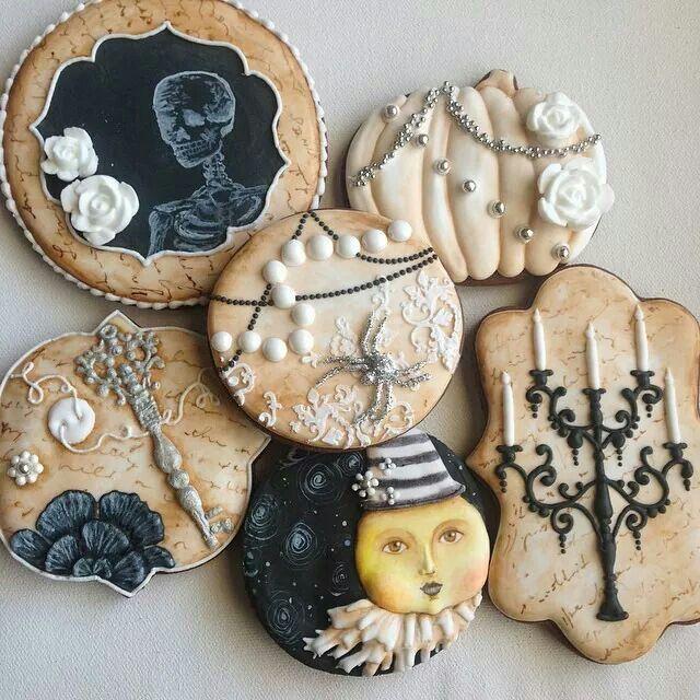 Fancy Halloween Cookies