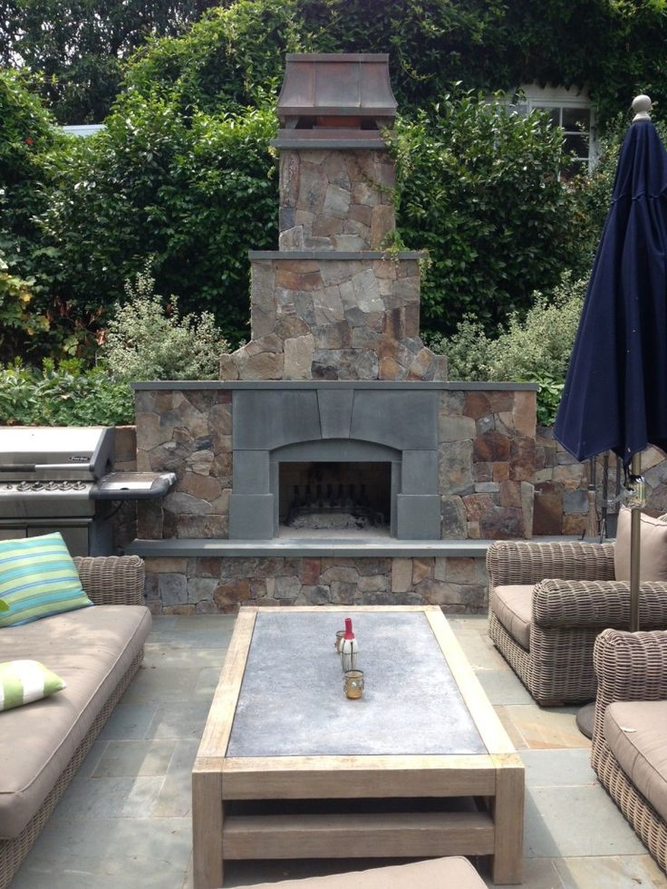 Outdoor Natural Stone : Best outdoor fire pits fireplaces images on pinterest