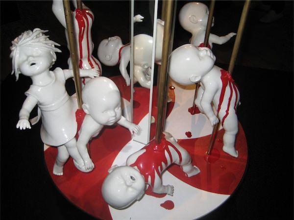 Best Maria Rubinke Images On Pinterest Weird Art Ceramic Art - Amazingly disturbing porcelain figurines by maria rubinke