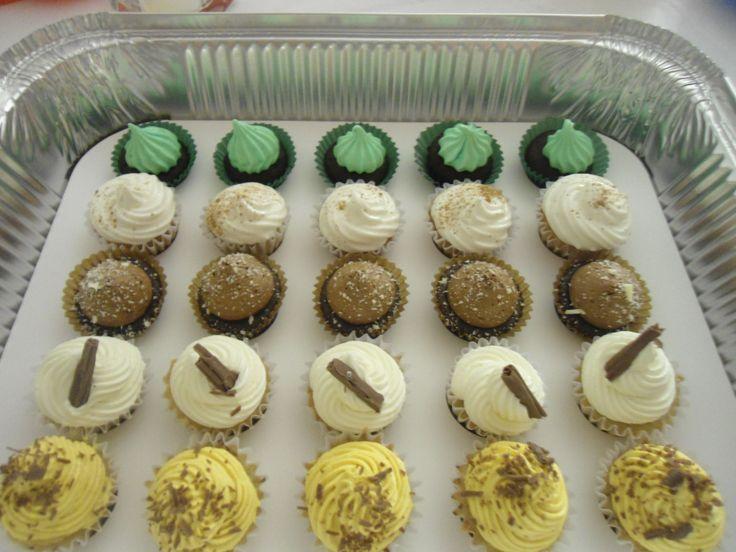 Cupcakes Mini Platano $19.635