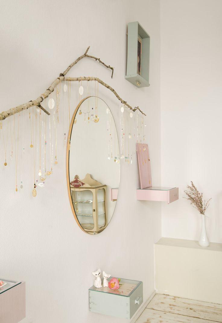 Décoration rétro et féérique à Hambourg, chez les créatrices de Jewelberry | Une hirondelle dans les tiroirs