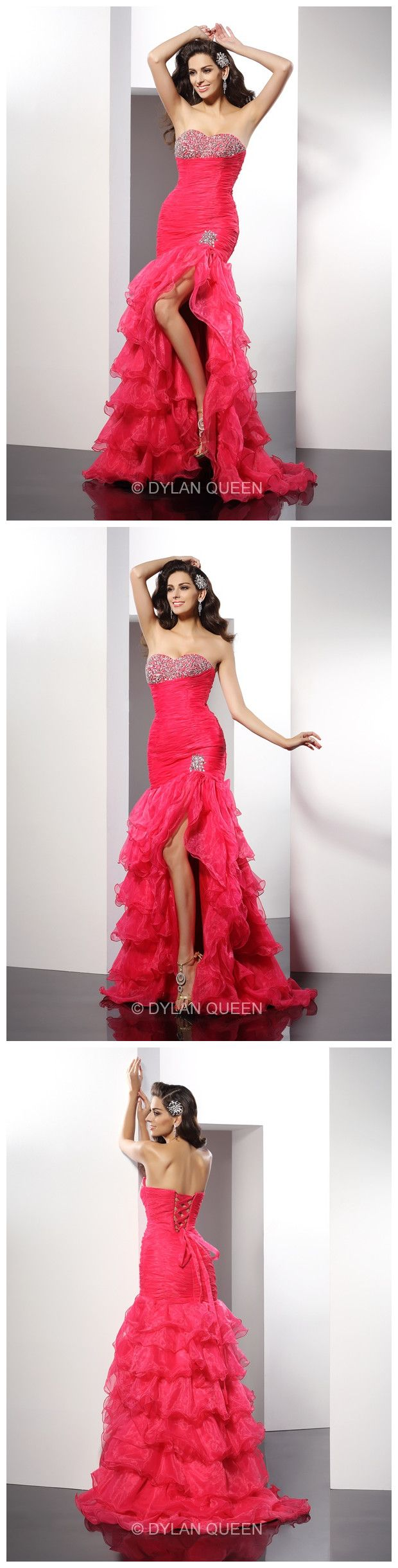 when I see the dress, I want dress it to dance~ dance~ share more #gorgeous #fashion #stylish #nice #prom dress on www.dylanqueen.com