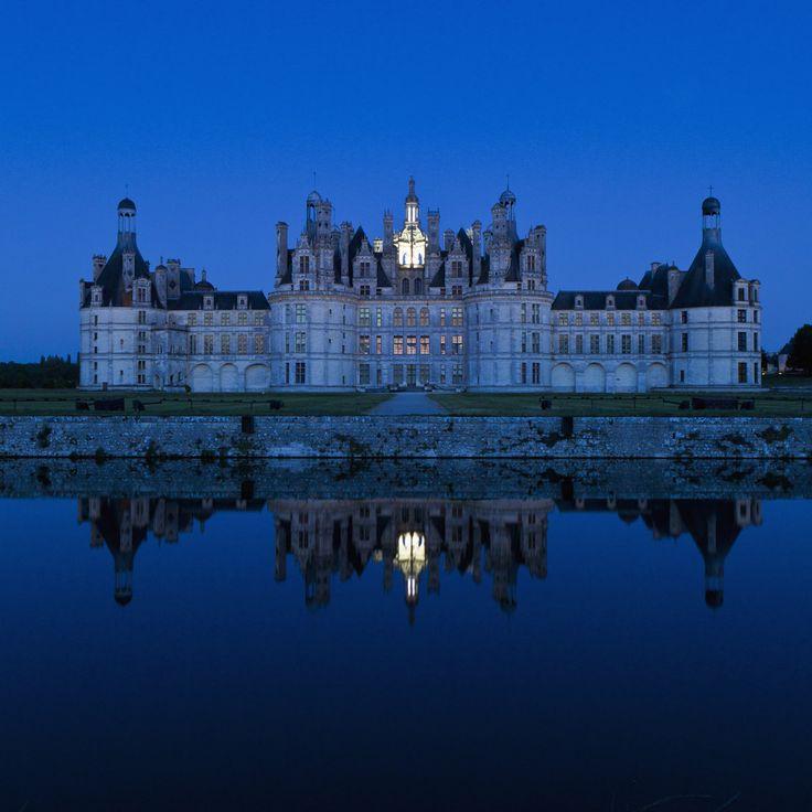 Château de Chambord, valle del Loira (Francia)