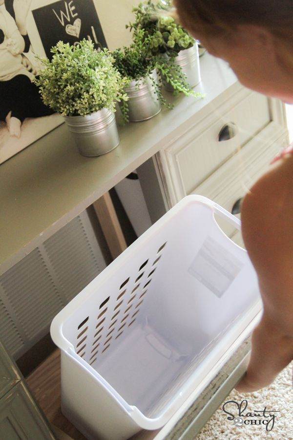 Diy Laundry Basket Dresser Laundry Sorter Front Doors