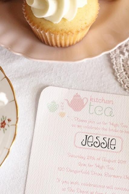 pink & mint Kitchen Tea