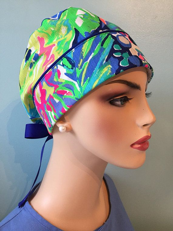 Lilly inspired surgical cap