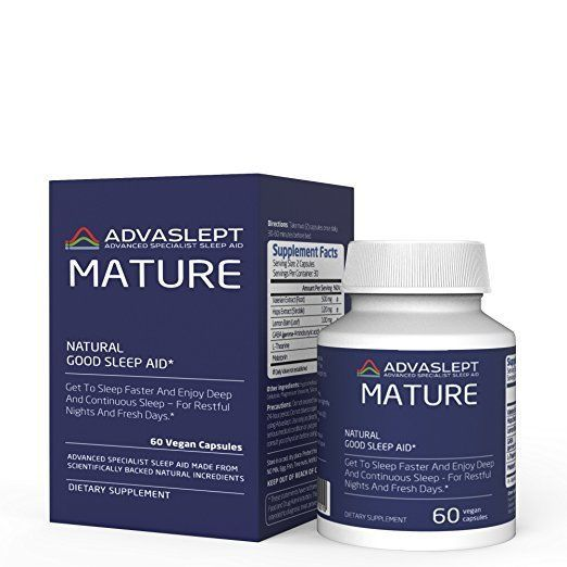 ADVASLEPT MATURE - A Game-Changer In The Natural Sleeping Pills World  | eBay