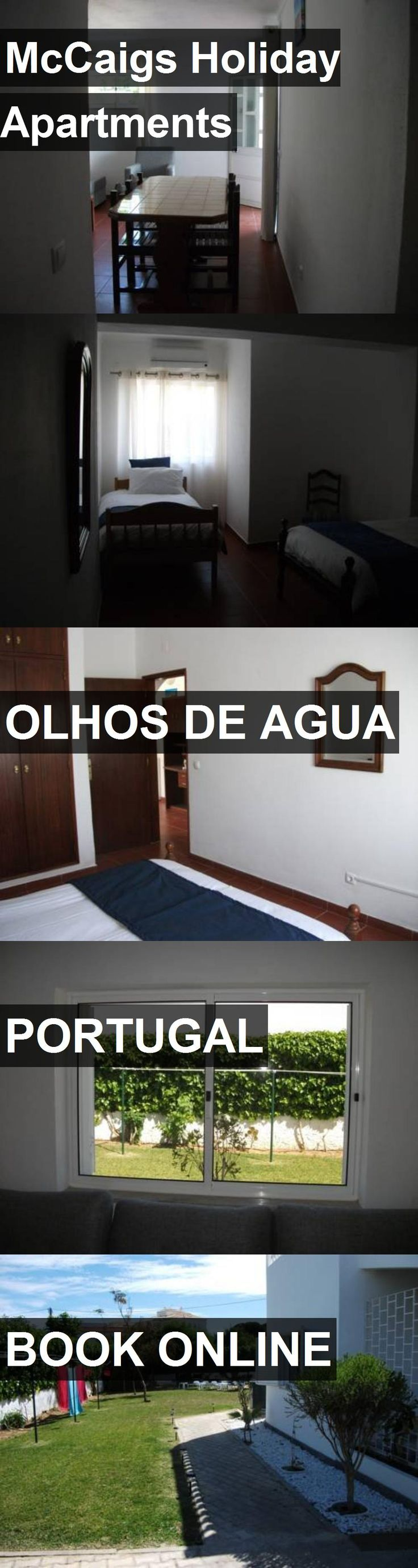 McCaigs Holiday Apartments in Olhos de Agua, Portugal. For more information, photos, reviews and best prices please follow the link. #Portugal #OlhosdeAgua #travel #vacation #apartment
