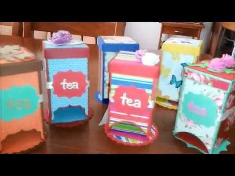 ▶ tea box dispenser ( tutorial ) - YouTube
