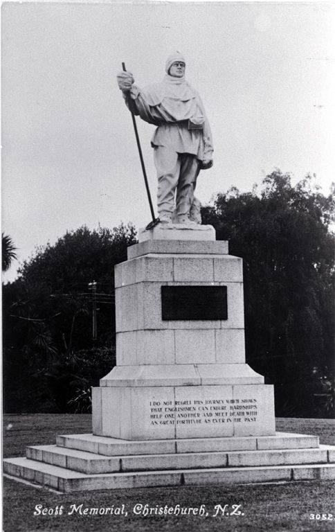 Monument for  Robert Falcon Scott, British pole explorer,and the inspiration for our brand logo.