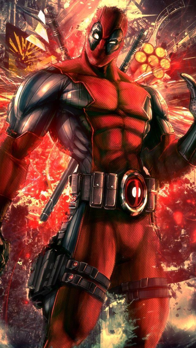 Deadpool x Need iPhone S Plus Wallpaper Background