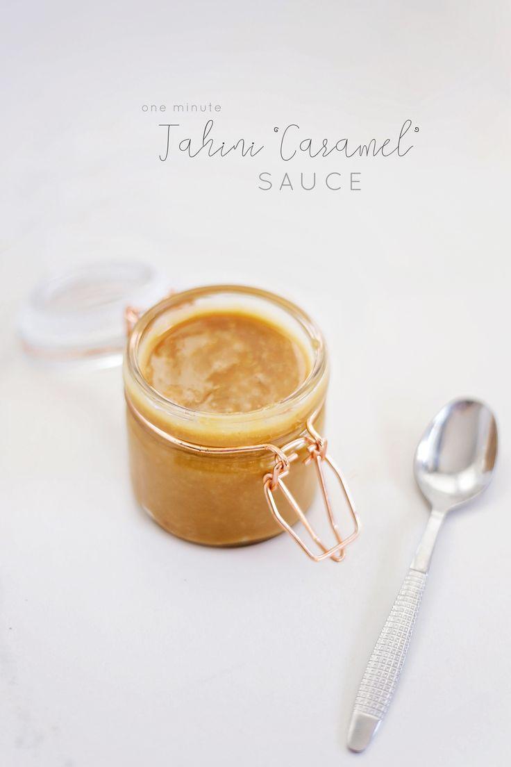 tahini 'caramel' sauce
