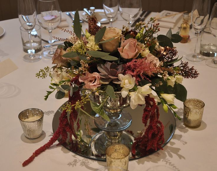 Allow your flowers and foliage to trail for a natural and vintage feel