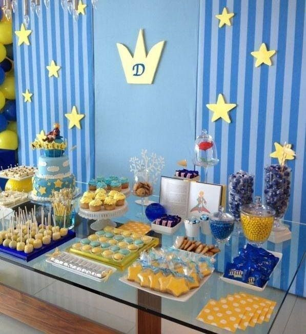 Mesa de festa tema príncipe #prince #party #tema #menino #festa #principe