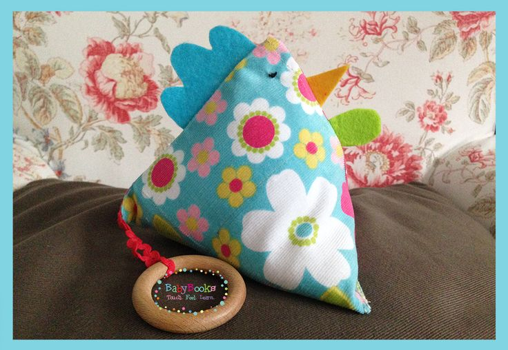 Proud Sensory Chick filled with rice and lavender for a complete sensory experience for your baby.