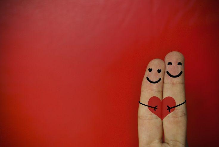 Descargar  Imágenes gratis de  Amor concepto dedos enamorados