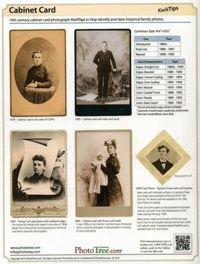 KwikTips: Carte de Visite and Cabinet Card Photographs; by Gary W. Clark
