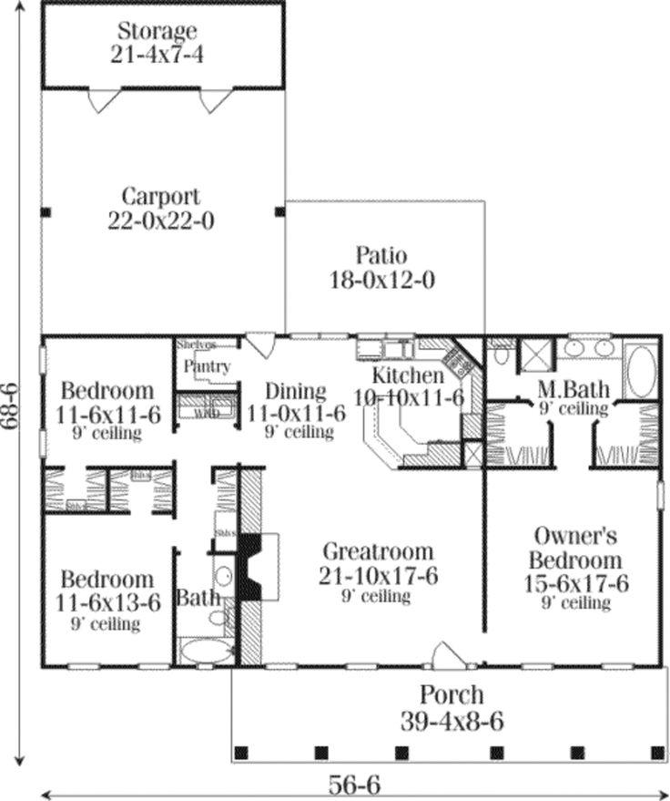 56 best Future house images on Pinterest House floor plans