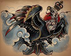 Traditional Polish Eagle