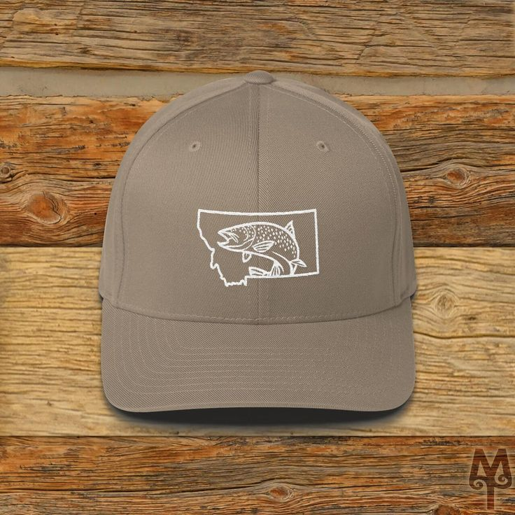 Montana Brown Trout, ball cap