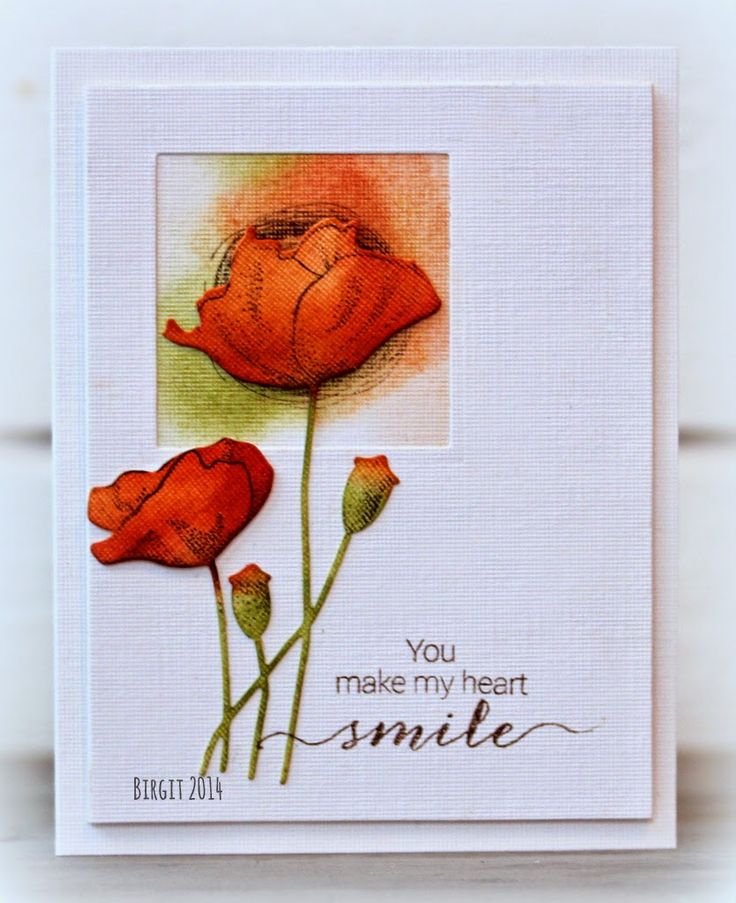 2014 has soon gone and tomorrow we start a new year! I made this card with my 2014 favorite stamp...