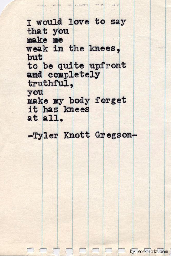 Typewriter Series #421 by Tyler Knott Gregson