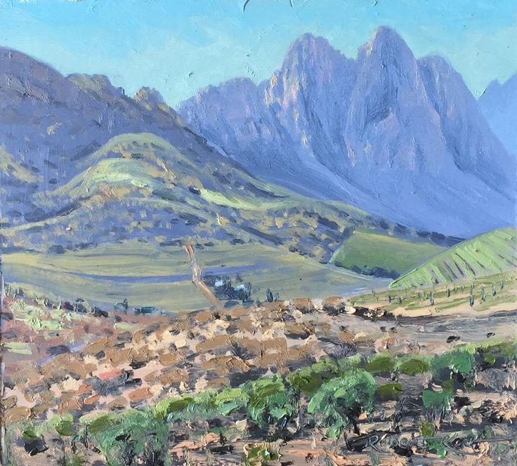 Lanzerac Oil on canvas  by Robert Koch