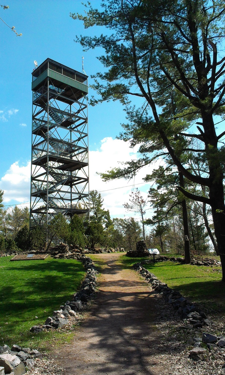 Fire Tower at Parry Sound, ON