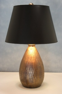 Mandela Lamp from CharlieWestLamps.com ... hand-thrown using Georgia clay