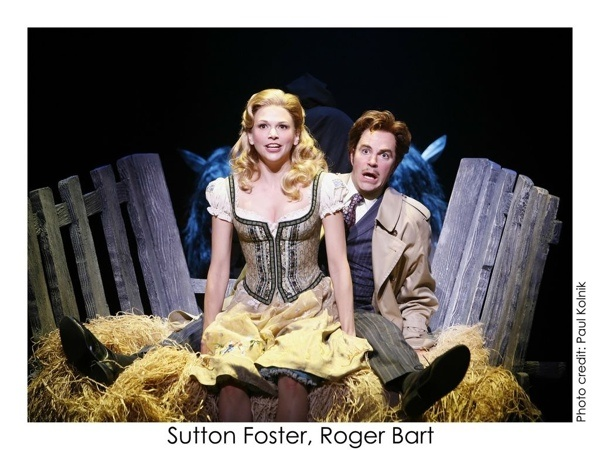 roll in ze hay!...Young Frankenstein - Sutton Foster and Roger Bart