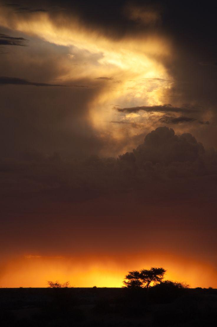 Kalahari Sunset Namibia by Aneen Hollenstein on 500px