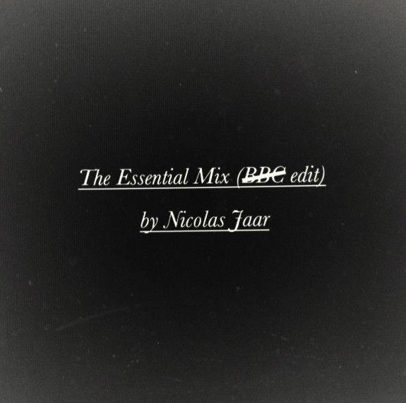 Descarga Nicolas Jaar – The Essential Mix (sin interrupciones)