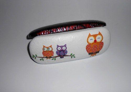 Pouzdro na brýle-sovičky
