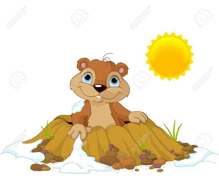 Ausgezeichnet Groundhog Day Malvorlagen Aktivitäten Zeitgenössisch ...