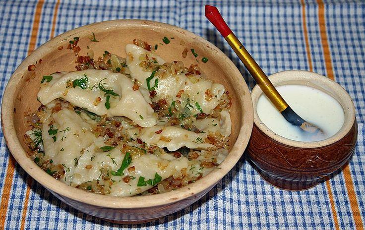 Russische Maultaschen mit Sauerkrautfüllung (Rezept mit Bild) | Chefkoch.de