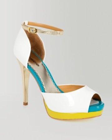 peep toe heels: Summer Sandals, Color Combos, Kiara Patent, Dream Contest, Bright Color, Patent Colorblock, Sandals Bebe, Colorblock Sandals, Bebe Wishesanddream
