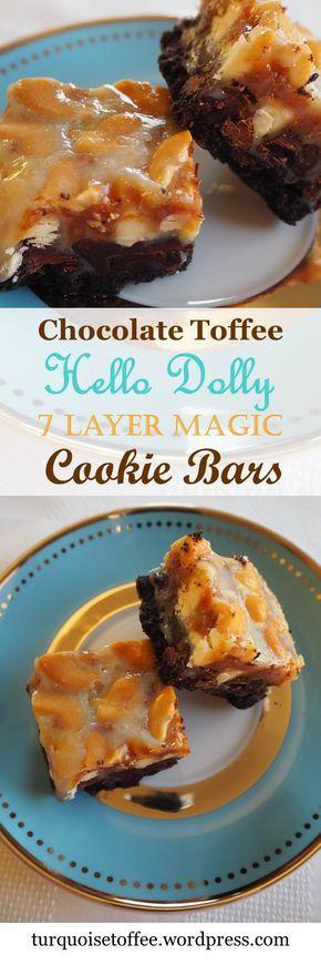 7 Layer Magic Bar Hello Dolly Chocolate Recipe