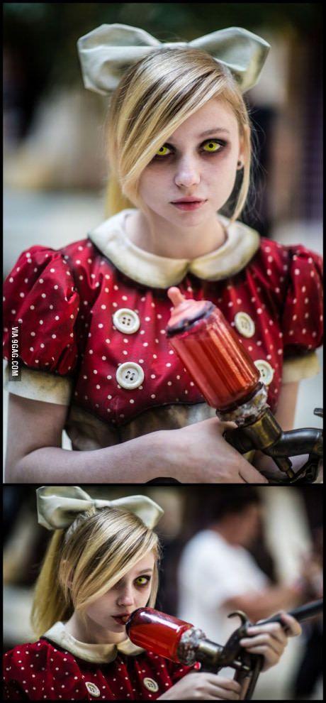 Little Sister cosplay (Bioshock)