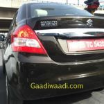 Maruti Swift Dzire diesel with AMT caught testing
