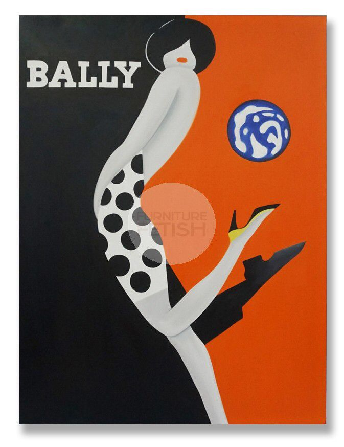 Bally Style Woman Oil Canvas 120cm x 90cm