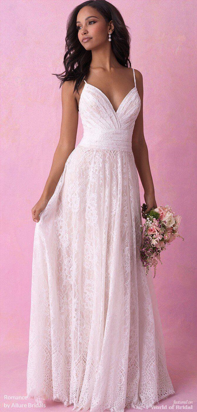 Romance by Allure Bridals Fall 2018 Wedding Dresses | dream wedding ...