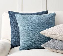 Washed Diamond Pillow Cover